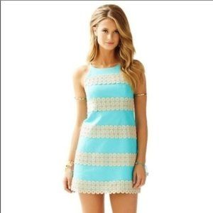 Lilly Pulitzer Annabelle Shift Dress Shorely Blue
